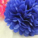 1pcs 10inch (25cm) Tissue Paper Pom Poms Flower Kissing Balls Home Decoration Festive Party Supplies Wedding Favors