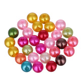 200pcs 6mm Mixed Color Fashion Bright Candy Color Acrylic Pears Spacer Loose DIY Bracelets & Necklaces Making