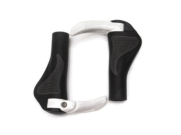 Carbon handlebar road cycling mountain mtb bike bicycle lock-on handlebar cover handle bar end