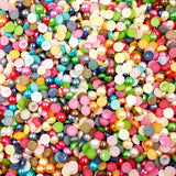 300 piece/lot 6mm Half Round Acrylic Imitation Pearl  for Jewelry Making Decoration Nail, Art, or Phone