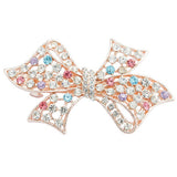1 PC Fashion Women Crystal Flower Full Drill Hair Clip Hairpin Twinkling Heart Bow Leaf Peacock Barrette Tiara Hair Accessories