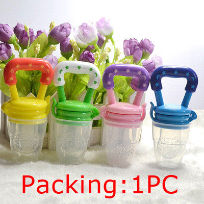 1Pcs Baby Pacifier Fresh Food Milk Nibbler Feeder Kids Nipple Feeding Safe Baby Supplies Nipple Teat Pacifier Bottles