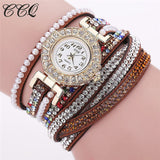 Women Watch Leather Bracelet Wristwatch Dress Watches Quartz Watches Fashion Casual Watch