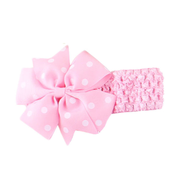 Cute Babies Girls Headbands Flower Head Wear Hair