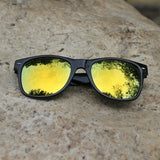 Cool Sunglasses for Men Women Colorful Bright Classical Fashion Summer Mirror UV Protection Glasses