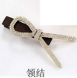 1pc Cute Bowknot Elastic Hair Bands For Women Scrunchy Leather headbands For Hair Jewelry