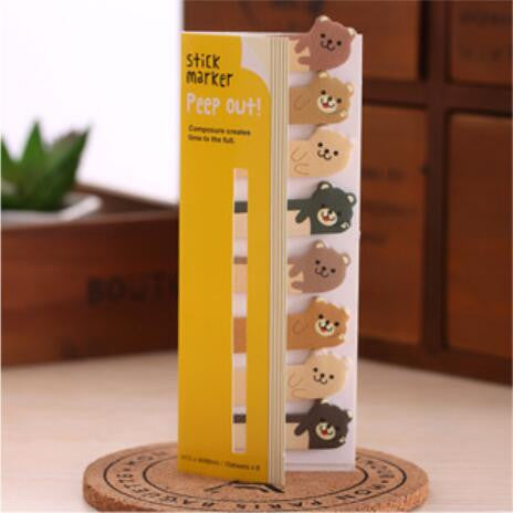 Mini Cute Kawaii Memo Pad England Style Vintage Animal Cat Sticky Paper School Supplies Gift Korean Stationery