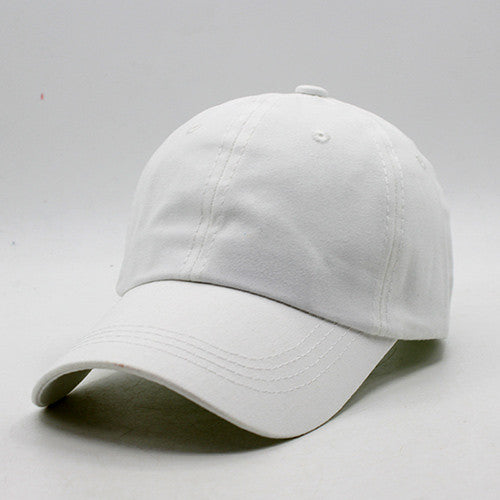 Baseball Cap Men Women Snapback Caps Bone Hats For Men Women Plain Visors Flat Blank Hat