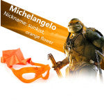 TMNT Teenage Mutant Ninja Turtles Weapons Toys Mask With Lights For Cosplay Movie Toys Kids Birthday Gifts