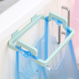 1pcs Hanging Trash Rubbish Bag Holder Garbage Rack Cupboard Cabinet Storage Rag Hanger
