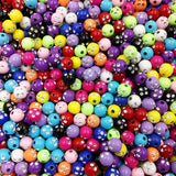 100 piece/lot 8mm Shiny Acrylic Beads for Jewelry Making for DIY Bracelet Necklace