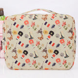 Zippered Women Makeup bag Cosmetic bag beauty Case Make Up Organizer Toiletry bag kits Storage Travel Wash pouch