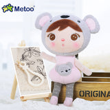 Plush Sweet Cute Stuffed Backpack Pendant Baby Kids Toys for Girls Birthday Christmas Metoo Doll