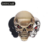 1 Pcs 3D Metal Skull Car stickers Logo Emblem Badge Name Car Truck Auto Motor Sticker Decal Car Styling