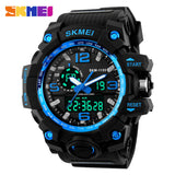 Large Dial Shock Outdoor Sports Watches Men Digital LED 50M Waterproof Military Army Watch Alarm Chrono Wristwatches 1155