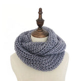 Unisex Men Women's Warm Winter Scarves Female Knit Crochet Wraps Neck Warmers Long Scarf Shawl