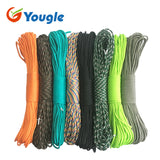 Yougle 108 colors Paracord 550 Parachute Cord Lanyard Rope Mil Spec Type III 7 Strand 100FT Climbing Camping survival equipment