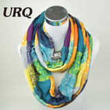 Tube Scarves Warm For Women Fahion Design Plaid lady Ring Scarfs Infinity Scarf Tube