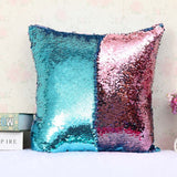 1pcs 40x40cm Reversible Sequin Mermaid Throw Pillow Cushion Cover Car Home Decoration Sofa Bed Decor Decorative Pillowcase 40043