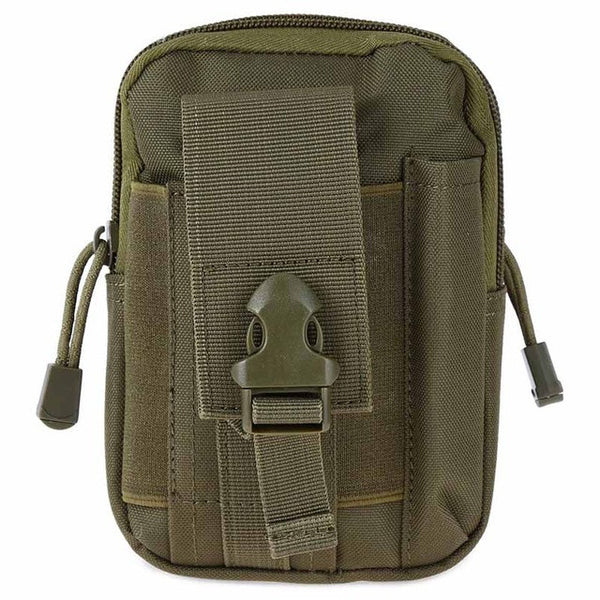 10 colors 1000D Tactical Molle Oxford Waist Belt Bags Wallet Pouch Purse Outdoor Sport Tactical Waist Pack EDC Camping Hiking Bag