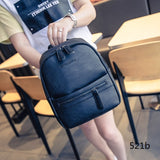 Women Backpack Fashion Casual PU Leather Ladies Feminine Backpack Candy Color Korea Style Student Mini Backpack
