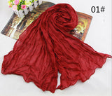 Summer Sunscreen American and Europe Candy Hot head scarf women's shawls and scarves india ladies female scarves headband