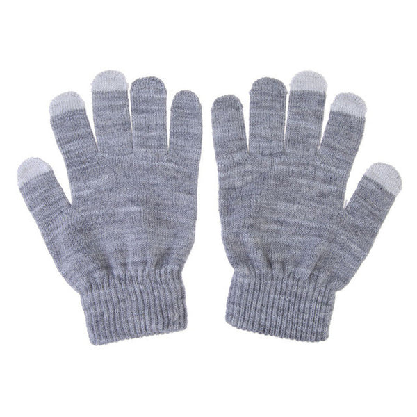 Glove Fashion touch screen Gloves colorful Soft Cotton Winter Gloves Warmer Smartphones For Driving Glove For Men and Women