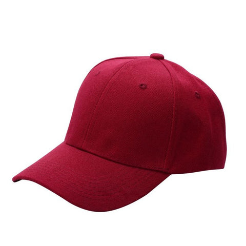 ... Men Women Plain Baseball Cap Unisex Curved Visor Hat Adjustable Peaked  Hat Visor Caps Solid ... e3885c4292b6
