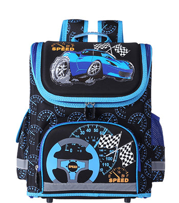 9bc24940b45b ... Kids butterfly Schoolbag Backpack EVA Folded Orthopedic Children School  Bags For Boys and girls ...