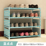 Shoes rack Four floors receive shoe ark 50 cm high Men's and women's dormitory bed bottom bed shoes shelf