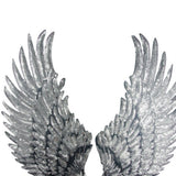 1 Pair Sliver Gold Sequins patch DIY Wings patches for clothes Sew-on embroidered patch motif applique deal with it