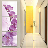 The tulip corridor canvas oil painting living room pictures on the wall Modular pictures Print (no frame)