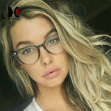 Shauna Classic Women Round Eyeglasses Frame Brand Designer Fashion Men Nail Decoration Optical Glasses Reading Glasses