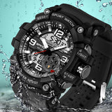 Military Sport Watch Men Top Brand Luxury Famous Electronic LED Digital Wrist Watch Male Clock For Man