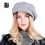 Super warm High Quality Fashion Artist Wool Women Beret Hat For Women Cap Female Cap Casual