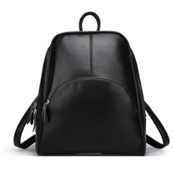 Fashion backpack women backpack Leather school bag women Casual style bag