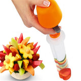 1 Set Fruit Salad Carving Vegetable Fruit Arrangements Smoothie Cake Tools Kitchen Dining Bar Cooking Accessories Supplies