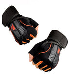 1 Pair Sports Gym Gloves Men Women Fitness Exercise Training Half Finger Body Workout Anti Slip Weightlifting Gloves