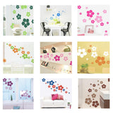 1pc Removable beautiful flowers wall sticker children living room bedroom decor Environmental Protection DIY Wall Stickers