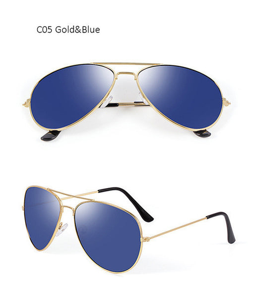38dccc7ed Fashion Oversized Aviation Sunglasses Women Men Classic Brand Designer –  Luxberra