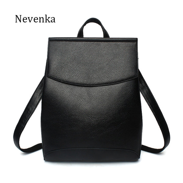 98f866f28aaa Nevenka Women Backpacks Lady Softback Bag Style Fashion Bags Pu Leather  High Quality Shoulder Bag Brand