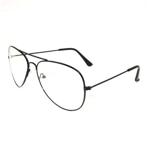 198651e5c34 ... Retro Vintage Round Metal Frame Eyeglasses Mens Womens Nerd Clear Lens  Glasses Transparent Optical Eyewear Plain ...