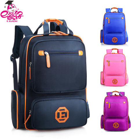 0766901df3 EKUIZAI Fashion School Bags For Students Candy Orthopedic Children School  Backpacks Schoolbags For Girls And Boys ...