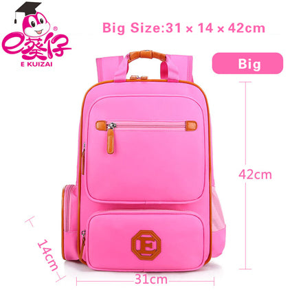 5755cde408 ... EKUIZAI Fashion School Bags For Students Candy Orthopedic Children  School Backpacks Schoolbags For Girls And Boys ...
