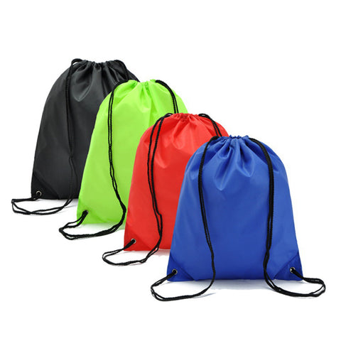 LASPERAL 34*39cm Gym Storage Bag Nylon Sports Drawstring Belt Riding Backpack Container Bag Clothes Organizer Waterproof
