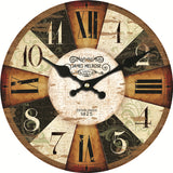 Colorful Design Classic Reloj Wall Clock Fashion Silent Living Room Wall Decor Home Decoration Wall Watch