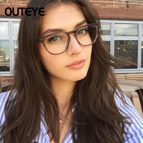 7256229696a Transparent Computer Glasses Clear Fashion Eyeglasses Fake Optical Eye  Glasses Frames For Women Myopia Glass Spectacles ...