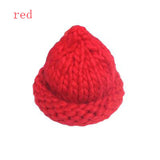 Women's Fashion Winter Wool Hat Coarse Lines Outdoor Warm Hat Beanie Knitted Hat Multicolor Optional