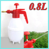 0.8L Garden Water Pressure Sprayer Portable Spray Bottle Plant Water Sprayer Outdoor Garden Plants Watering Supplies