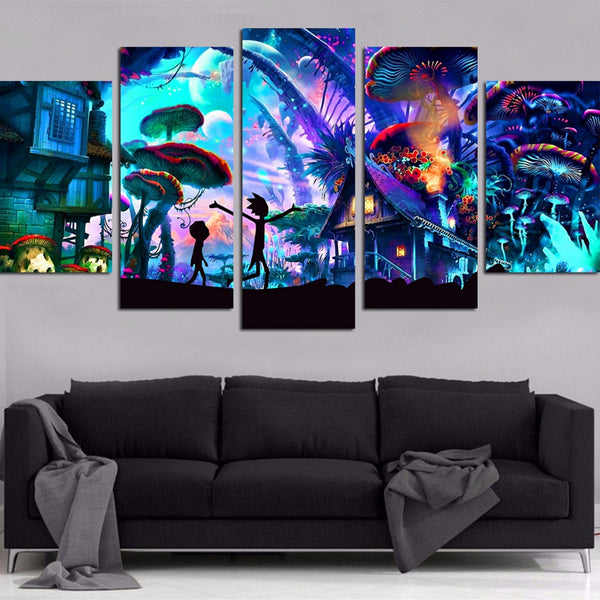 Alice In Wonderland HD Canvas prints Painting Home decor Picture Wall art Poster